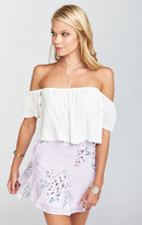 MUMU Skater Stretch Skirt ~ Liv Lov Lav