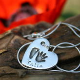 First Impressions Joulberry Personalised Heart Necklace