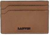 Lanvin Brown Grained Leather Card Holder