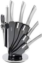 Tower 7-Piece Knife Set with Rotating Stand