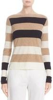 Max Mara Savina Stripe Cashmere Sweater