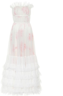 Giambattista Valli Ruffled tulle gown