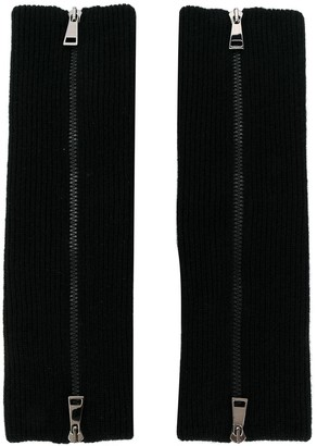 Moncler Zipped Rib-Knit Sleeves