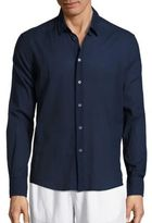 Vilebrequin Solid Long Sleeve Shirt