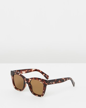 Quay After Hours Tort Square sunglasses