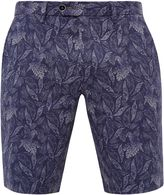 Ted Baker Parmsho Parrot Print Cotton Shorts