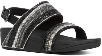 FitFlop Rosa Crystal Mosaic Back Strap Sandal