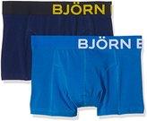 Bjorn Borg Men's 2-Pack Solid Trunk