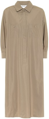 Max Mara Vibo cotton twill shirt dress
