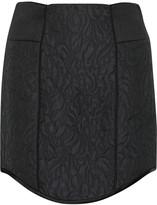 Tibi Katrin matelassé mini skirt