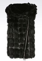Emporio Armani LEATHERWEAR - Fur
