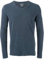 Majestic Filatures longsleeved v-neck T-shirt