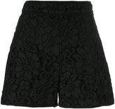 MSGM lace shorts - women - Cotton/Polyester/Viscose/Polyimide - 40