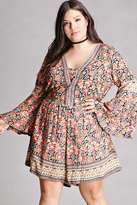 Forever 21 FOREVER 21+ Plus Size Angie Floral Romper