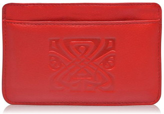 Biba Embossed Logo Leather Coin Purse