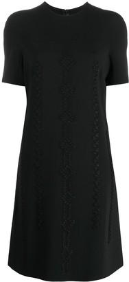 Ermanno Scervino detailed T-shirt dress