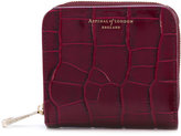 Aspinal of London croc effect purse - women - Leather - One Size
