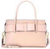 Miu Miu Crossbody leather shoulder bag