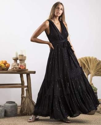 SUNDRESS Black Natalia Precieuse Dress - M/L - Black