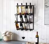 Pottery Barn Vintage Blacksmith Wall Wine Rack