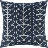 Thumbnail for your product : Orla Kiely Small Linear Stem Cushion - Whale - 50x50cm