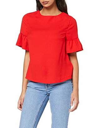 New Look Women's 5080883 T - Shirt, Bright Red