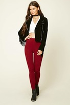 Forever 21 FOREVER 21+ Stretch-Knit Pants