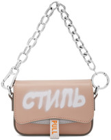 Heron Preston Pink Mini Canal Style Bag