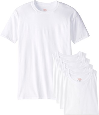 Hanes Men's Big 5-Pack Crew T-Shirt