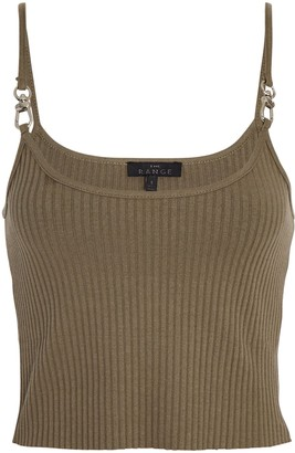 The Range Vital Hardware Cropped Tank Top