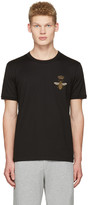 Dolce & Gabbana Black Crown Bee T-Shirt