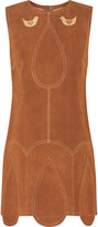 Anna Sui Suede mini dress