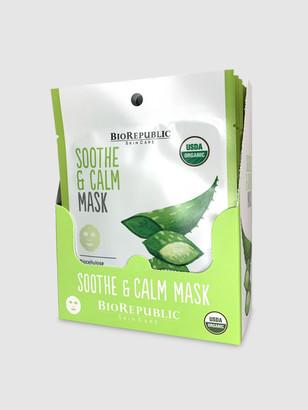 Biorepublic Skincare Soothe and Calm Organic Facial Sheet Masks