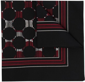 Dolce & Gabbana Abstract-Print Pocket Square