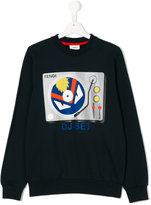 Fendi DJ-Set print sweatshirt