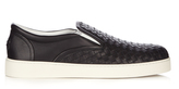 Bottega Veneta Dodger intrecciato leather trainers