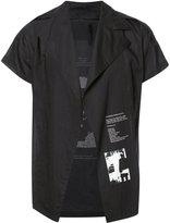 Julius back print shirt - men - Cotton - 3