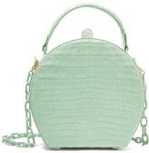Nancy Gonzalez Crocodile Shoulder Bag - Mint