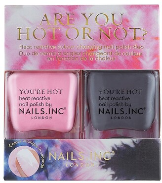 Nails Inc NAILS.INC Are You Hot or Not Heat-Reactive Duo