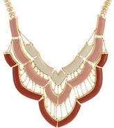 "C. Wonder 16"" Layered Enamel Bib Statement Necklace"