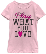 Fifth Sun Pink 'Love To Play' Tee - Toddler & Girls
