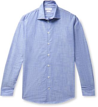 Richard James Slim-Fit Cotton-Chambray Shirt