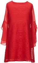 My Michelle Big Girls 7-16 Chiffon Crochet Dress