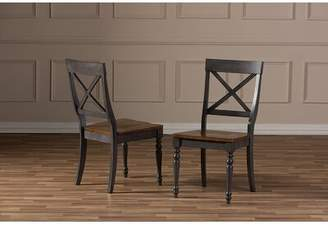 Fallon Alcott Hill Shabby Elegance Weathered Solid Wood Dining Chair Alcott Hill