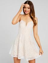 Dotti Plunging Lace Dress