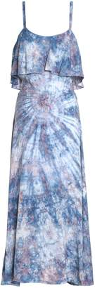 Kain Label Ariel Layered Gingham Gauze Dress