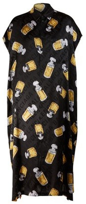 Balenciaga Rawcut short sleeve dress Le Dix print