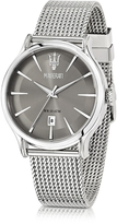 Epoca Maserati Gray Dial Stainless Steel Men's Watch