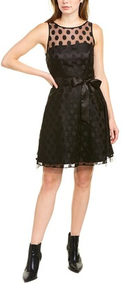 Betsey Johnson Polka Dot Mini Dress
