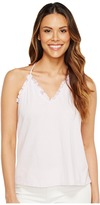 Rebecca Taylor Sleeveless Vintage Ruffle Jersey Women's Sleeveless